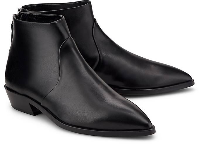 Schwarz In Kaufen Agl Klassische Boots Ankle boots Stiefeletten Ankle WIDEY9H2