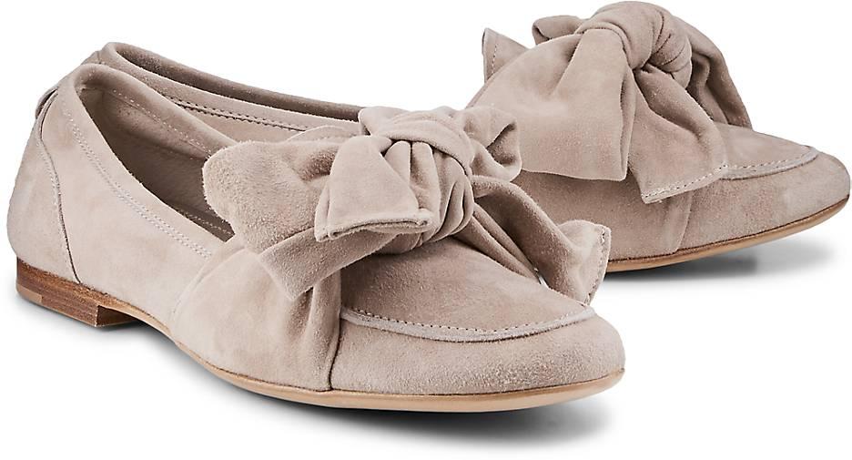 AGL Leder-Slipper in beige kaufen - 48152602 GÖRTZ Gute Qualität beliebte Schuhe