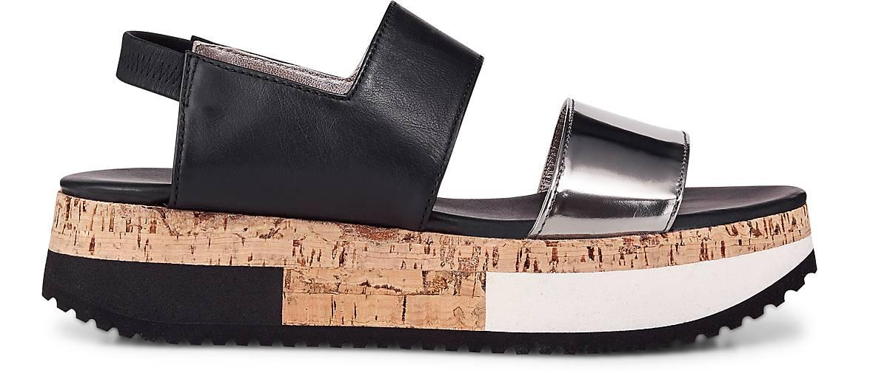 AGL Plateau-Sandale in schwarz schwarz schwarz kaufen - 47123001 GÖRTZ Gute Qualität beliebte Schuhe db0191