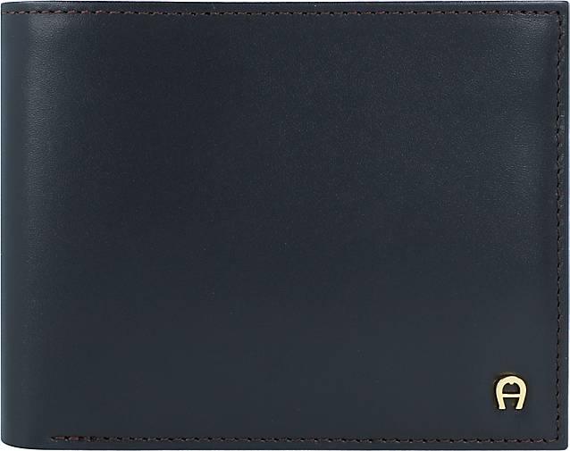 AIGNER Basics Geldbörse Leder 12 cm