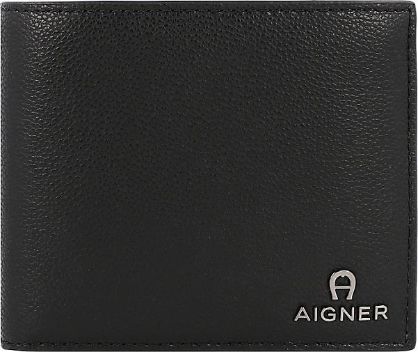 AIGNER Basics Geldbörse RFID Leder 12 cm