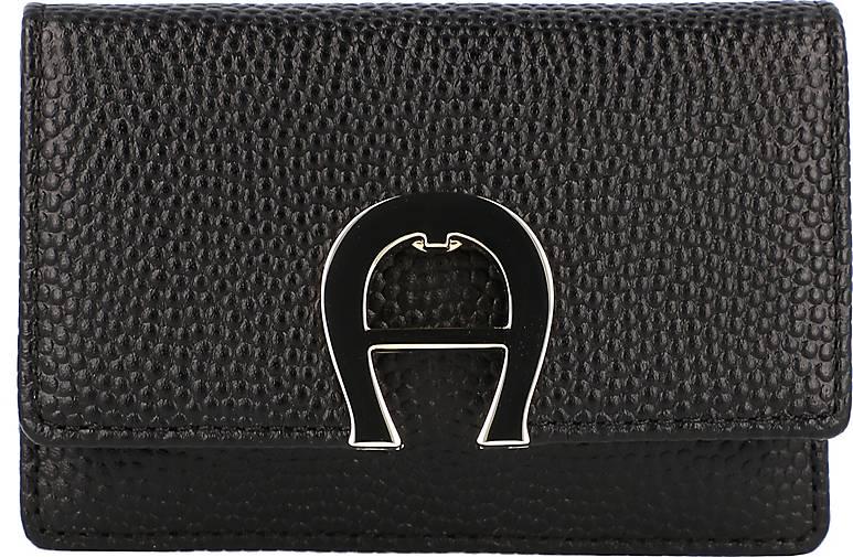 AIGNER Genoveva Geldbörse RFID Leder 10,5 cm