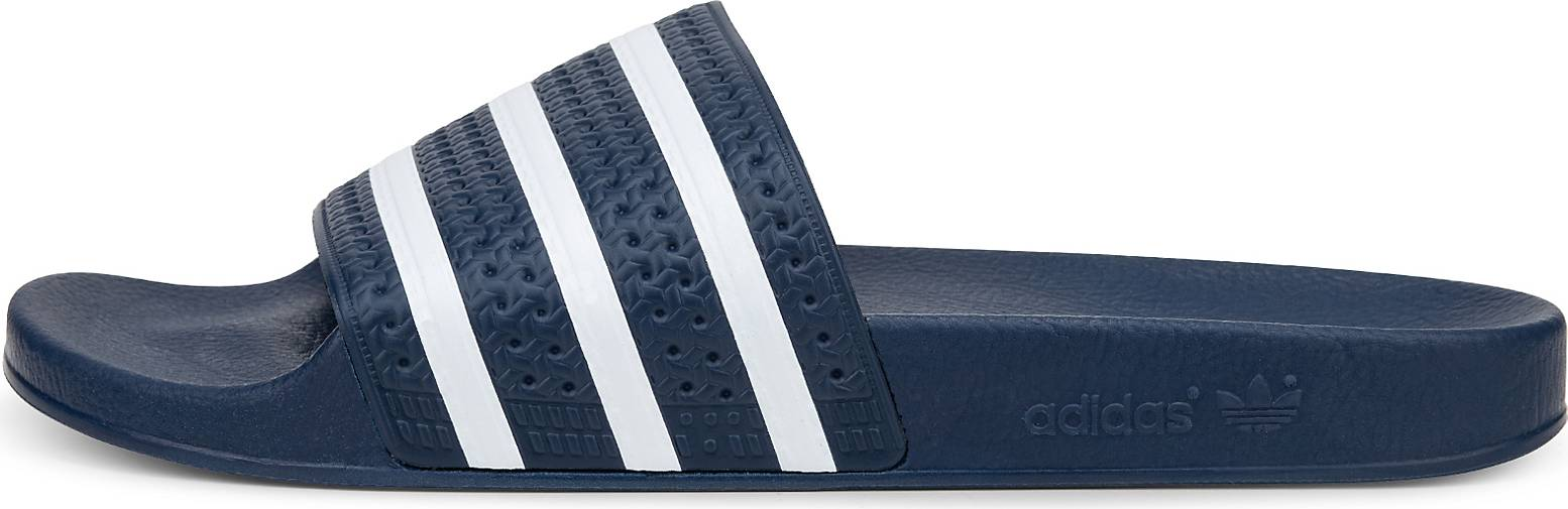 adidas originals adilette in blau dunkel kaufen 44453901. Black Bedroom Furniture Sets. Home Design Ideas