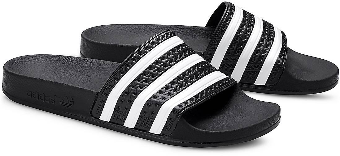 654bd519794a44 Adidas Originals ADILETTE in schwarz kaufen - 44229401