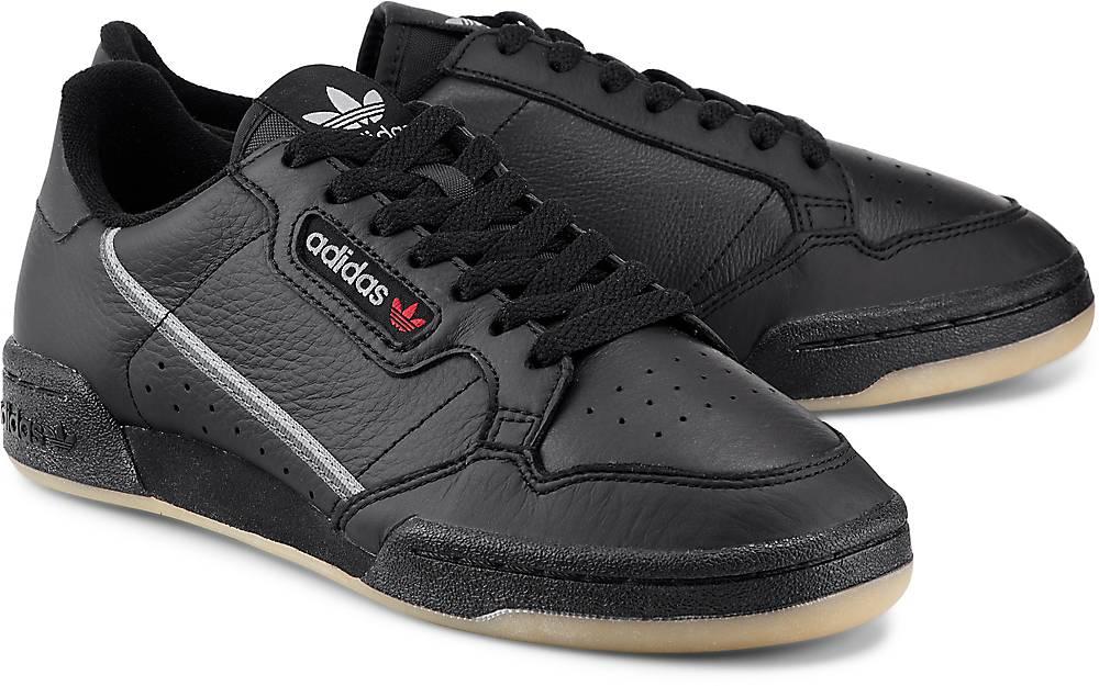 Continental 80 von Adidas Originals in schwarz für Herren. Gr. 40 2/3,41 1/3,42,42 2/3,43  Preisvergleich