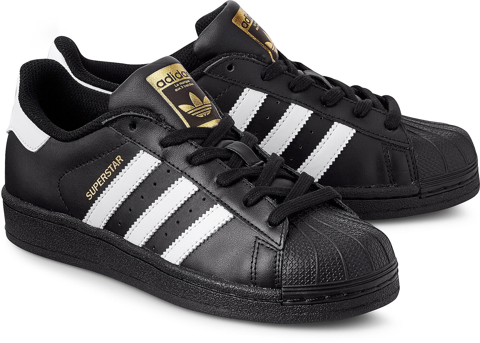 SUPERSTAR FOUNDATION von Adidas Originals in schwarz für