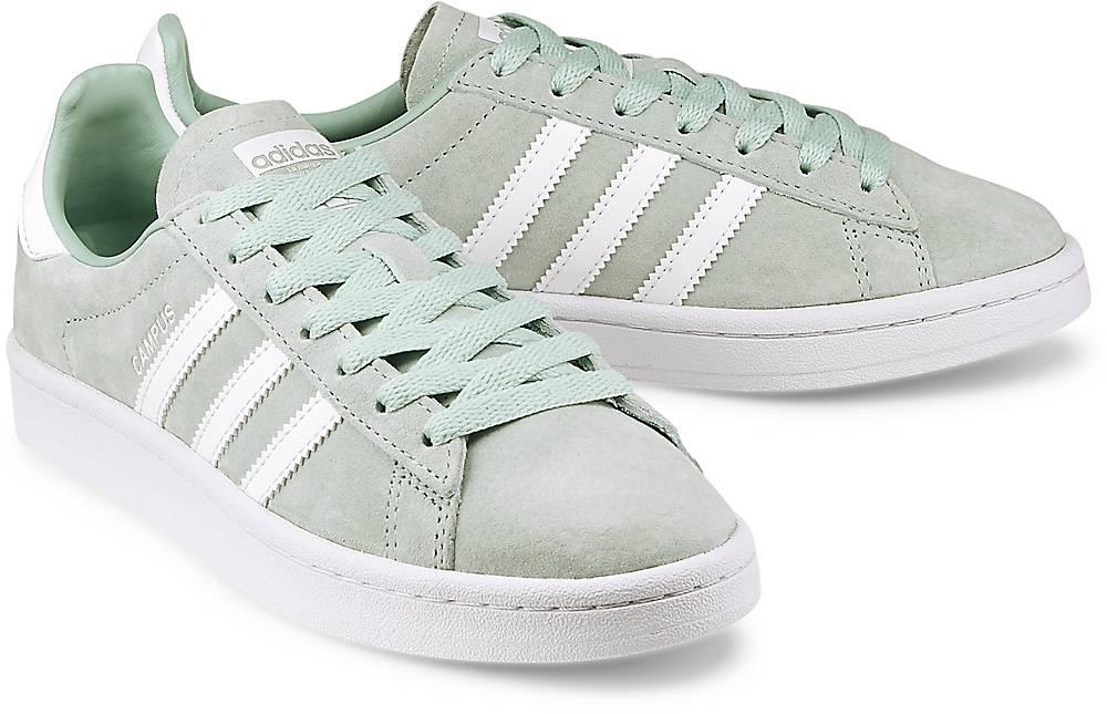 Sneaker Campus von Adidas Originals in mint für Mädchen. Gr. 36,36 2/3,37 1/3,38 2/3,39 1/ Preisvergleich