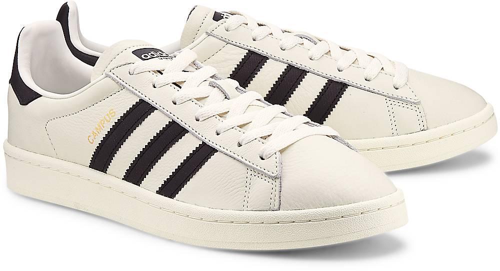 Adidas Originals, Sneaker Campus in weiß, Sneaker für Herren Gr. 42