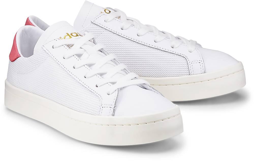 Sneaker Courtvantage von Adidas Originals in weiß für Mädchen. Gr. 36,36 2/3,37 1/3,38,38  Preisvergleich