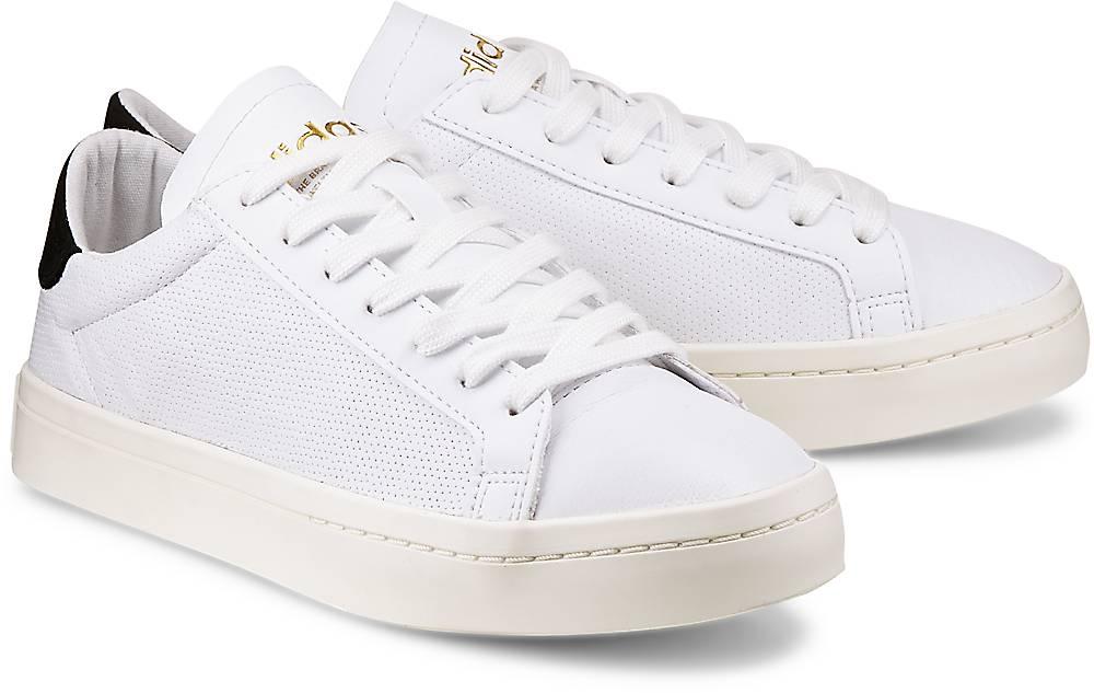 Sneaker Courtvantage von Adidas Originals in weiß für Damen. Gr. 36,36 2/3,37 1/3,38,38 2/ Preisvergleich
