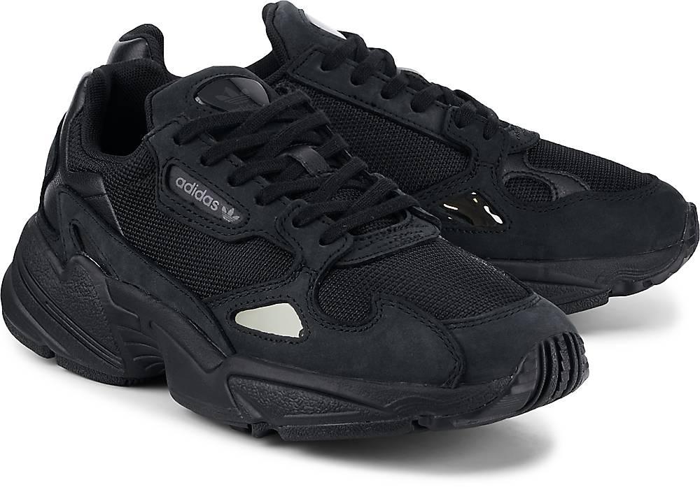 Sneaker Falcon W von Adidas Originals in schwarz für Damen. Gr. 36,36 2/3,37 1/3,38,38 2/3 Preisvergleich