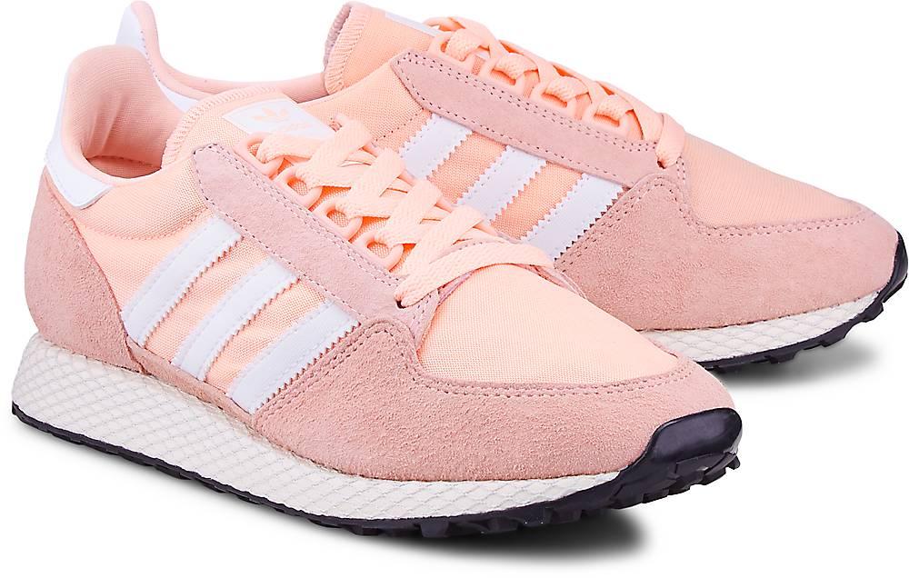 Sneaker Forest Grove von Adidas Originals in rosa für Mädchen. Gr. 36,36 2/3,37 1/3,38,38  Preisvergleich