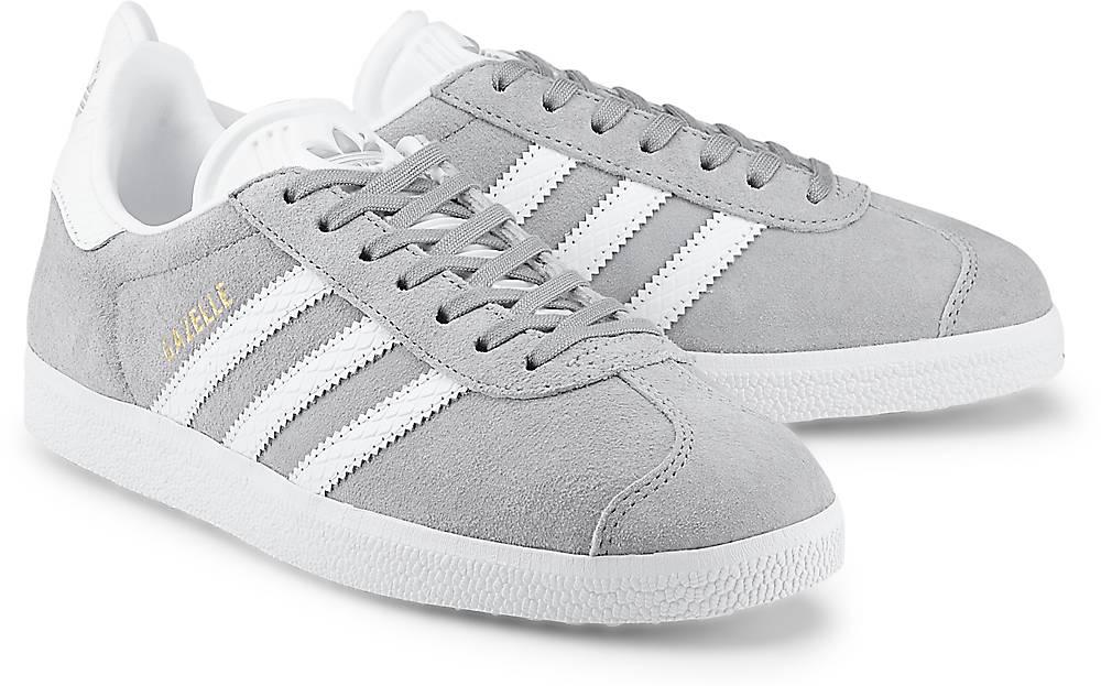 Adidas Originals, Sneaker Gazelle in grau, Sneaker für Damen Gr. 36