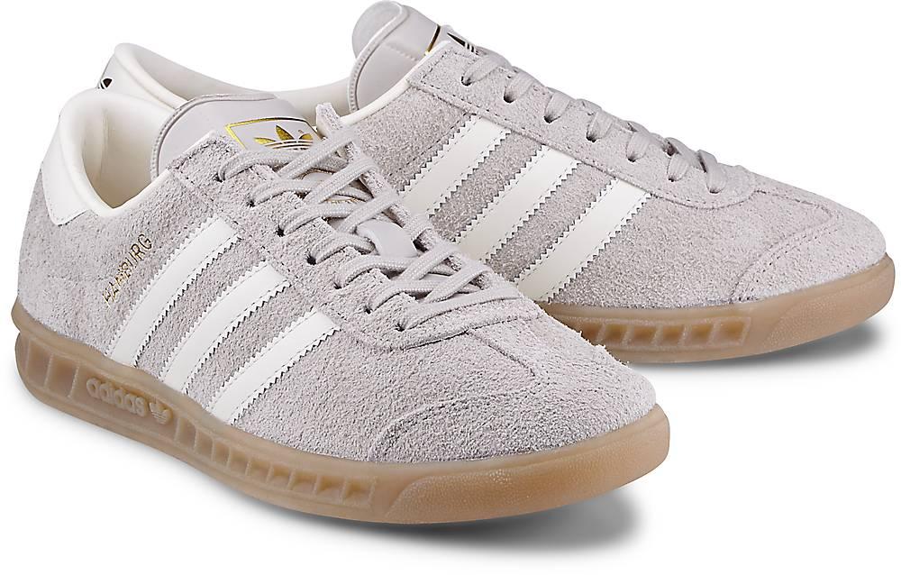 Sneaker Hamburg von Adidas Originals in grau für Damen. Gr. 36,36 2/3,37 1/3,38,38 2/3,39  Preisvergleich