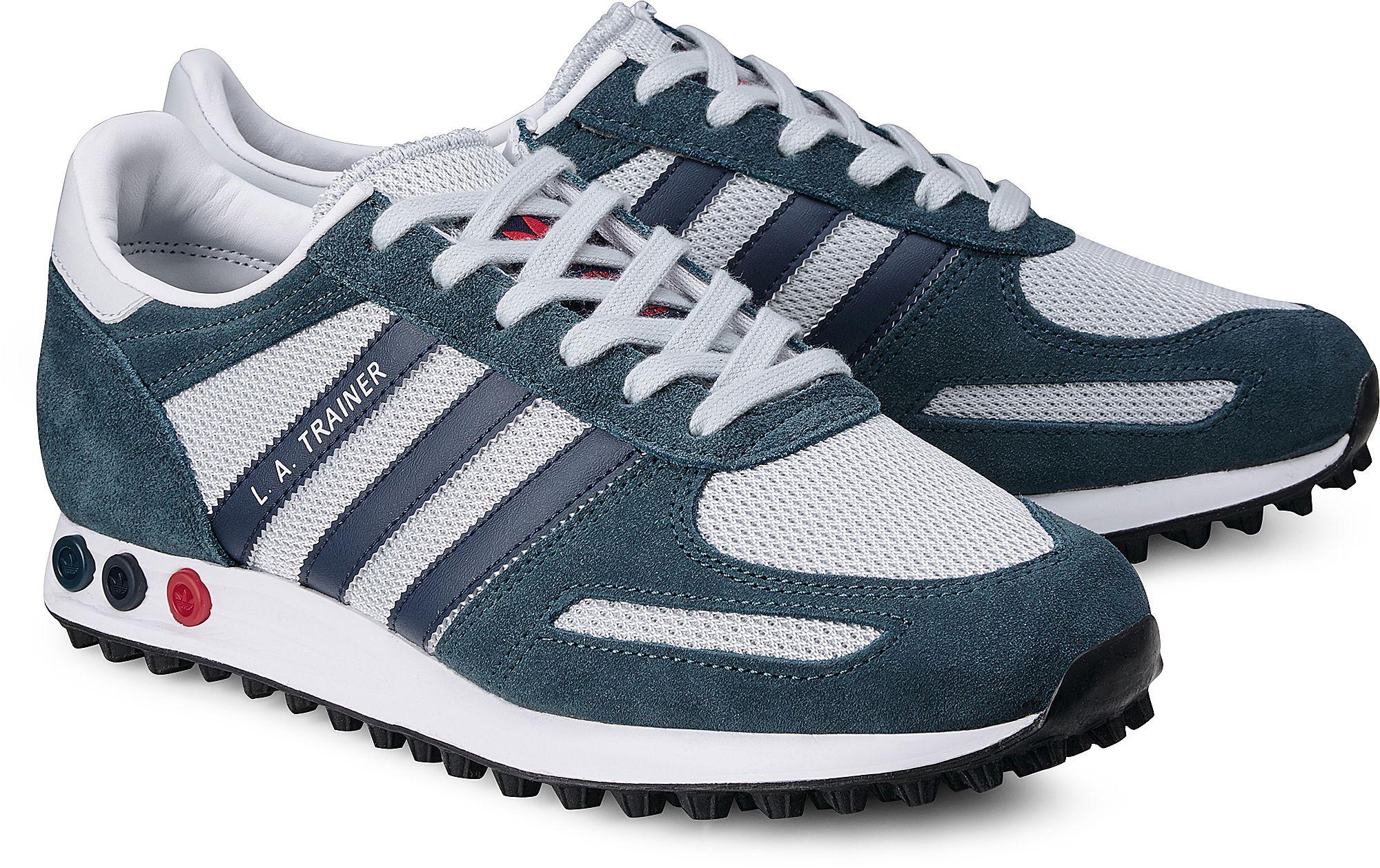 Sneaker L.A. TRAINER von Adidas Originals in blau dunkel für Herren. Gr. 40  2 3,42 2 3,43 1 3,44 2 3,45 1 3,46,46 2 3,47 1 3 faefaef7a3