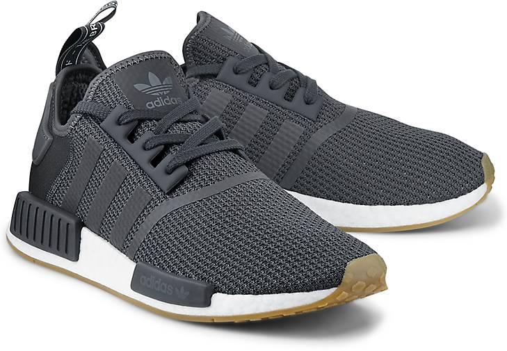 adidas nmd r1 grau schwarz, Adidas Originals Schuhe Sale