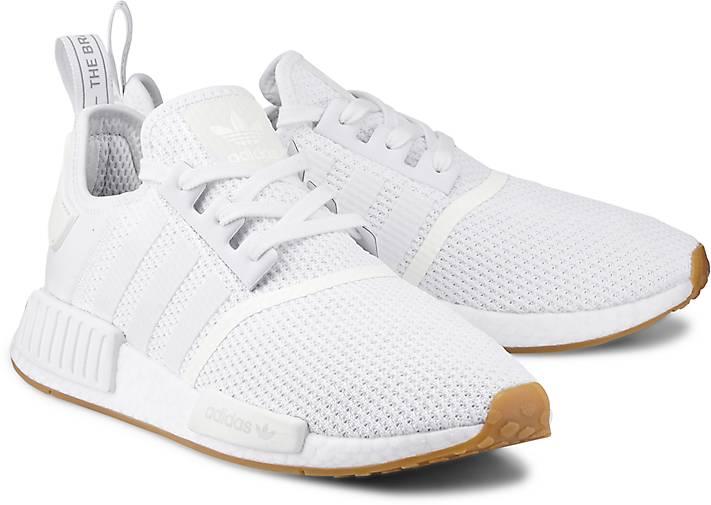 Adidas Originals Herren Sneaker NMD_R1 weiß Größe:40 2|3, 41
