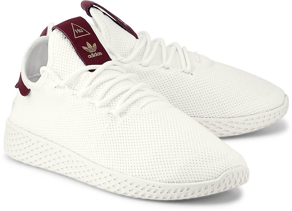 Sneaker Pw Tennis Hu von Adidas Originals in weiß für Damen. Gr. 37 1/3,38,38 2/3,39 1/3,4 Preisvergleich