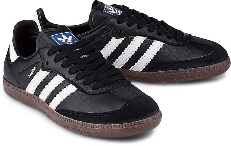adidas Originals Samba Sneaker für Damen Schwarz
