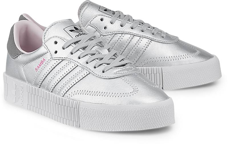 05388e09faf023 Adidas Originals Sneaker SAMBAROSE W in silber kaufen - 47458004