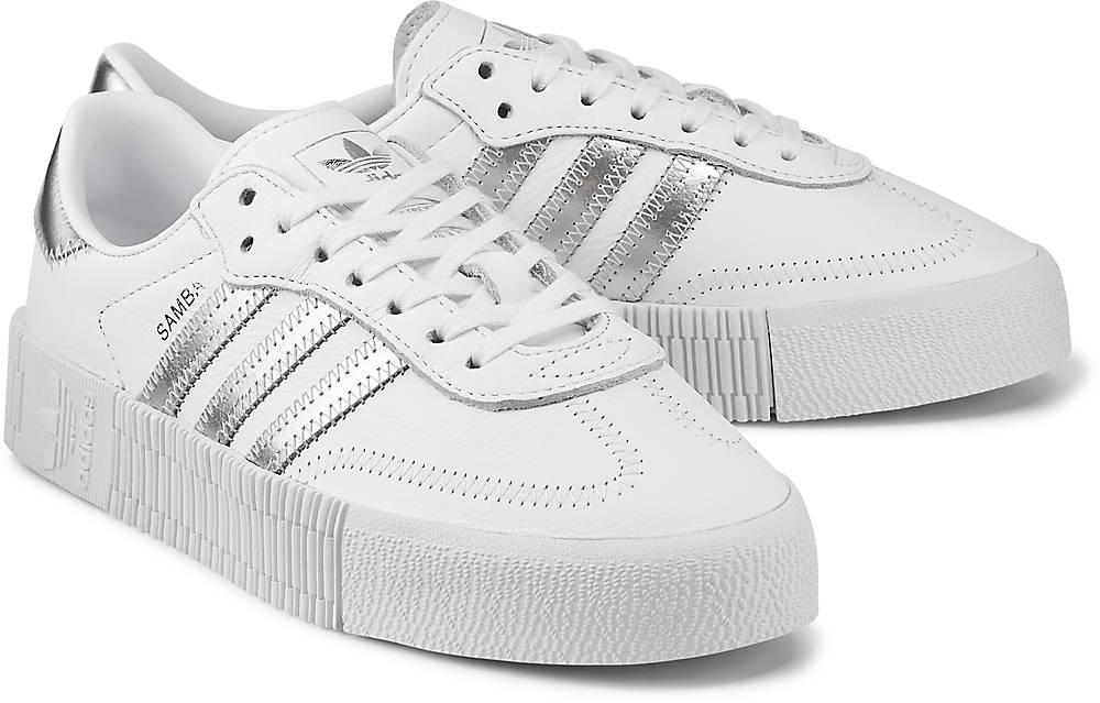 Sneaker Sambarose W von Adidas Originals in weiß für Damen.