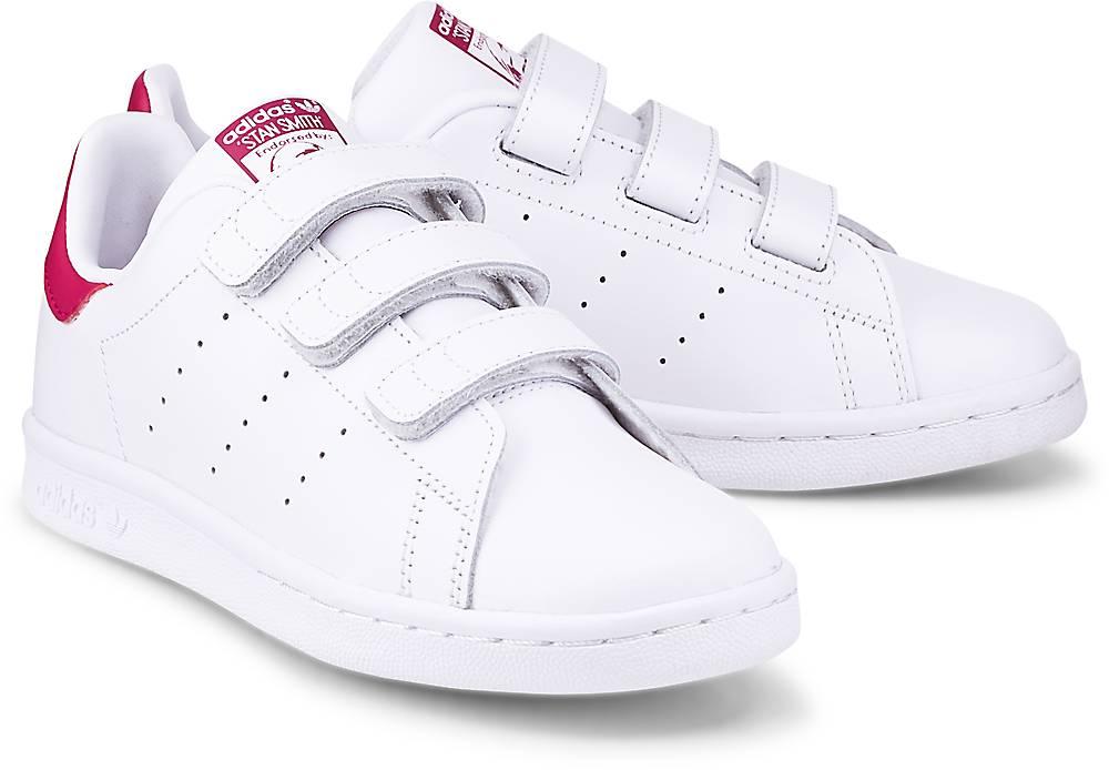 Sneaker Stan Smith Cf von Adidas Originals in weiß für Mädchen. Gr. 28,29,30,31,32,33,34,3 Preisvergleich