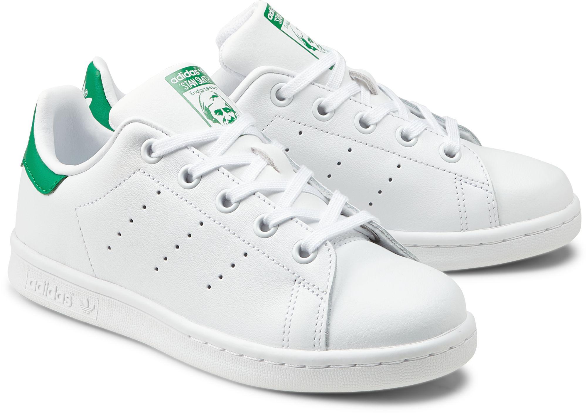 3a41b0b70f19b Sneaker STAN SMITH von Adidas Originals in grün mittel für Mädchen. Gr.  28,29,30,31,32,33,34,35
