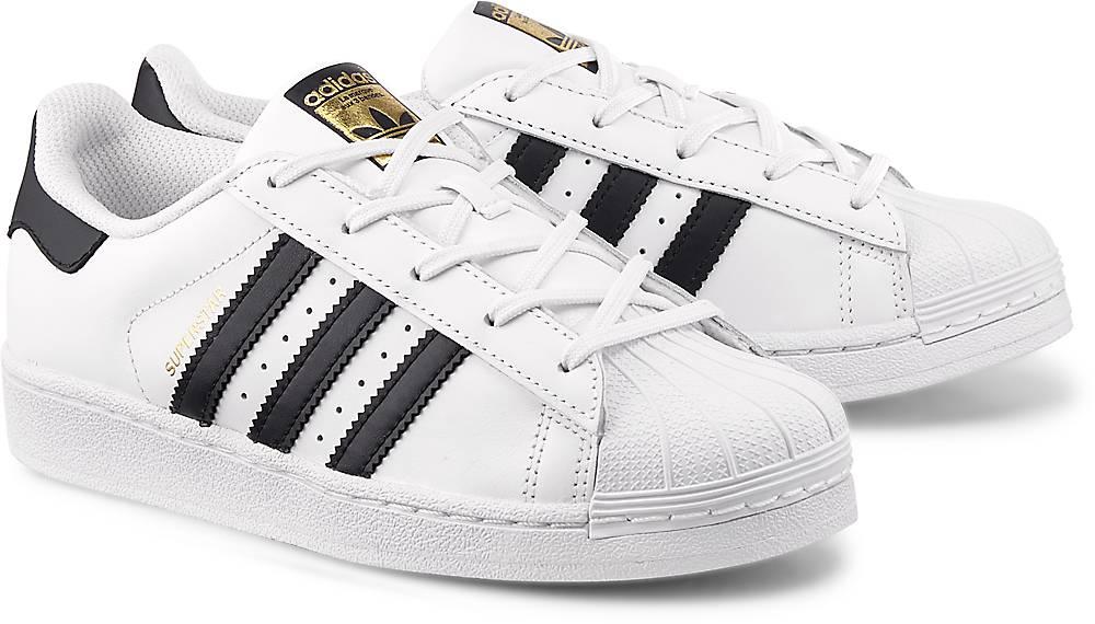Sneaker Suerstar C von Adidas Originals in weiß für Mädchen. Gr. 28,29,30,31,32,33,34,35 Preisvergleich