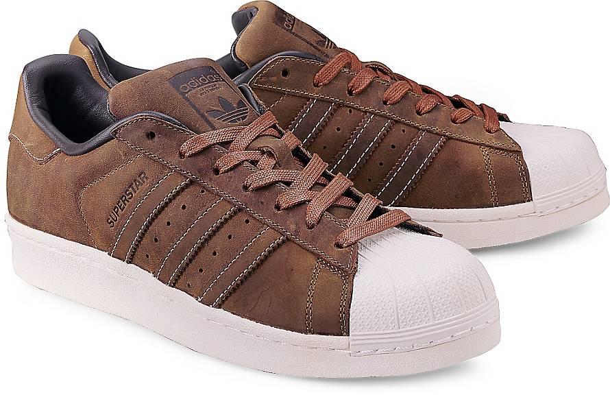 Adidas Superstars Braun