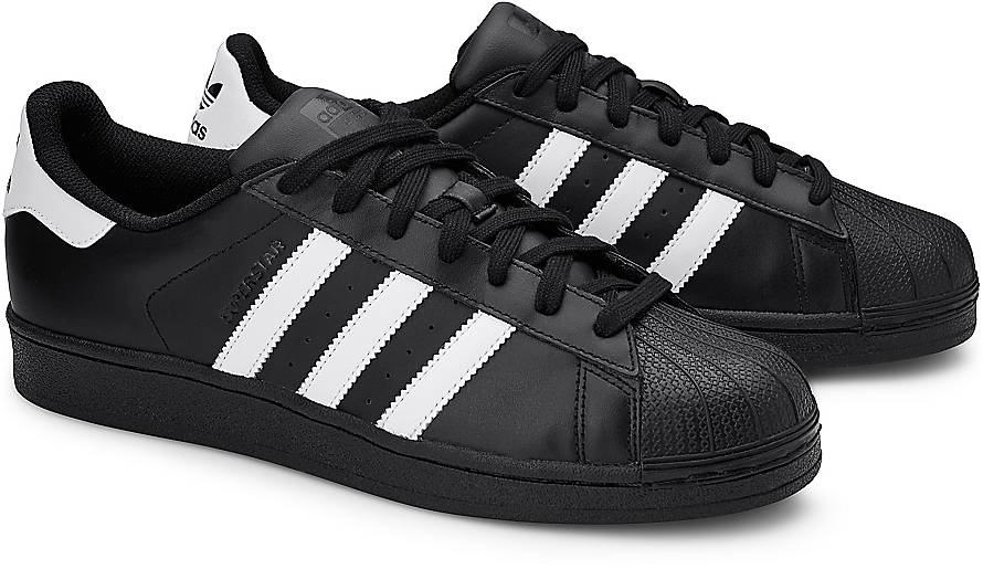 superstars adidas schwarz