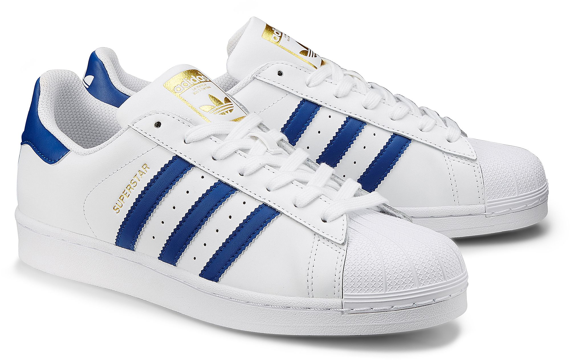 Von Sneaker In Superstar Weiß Originals Für 1 Adidas HerrenGr41 HD2IE9