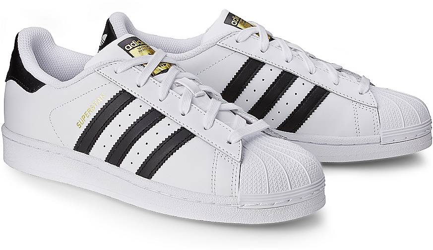 superstars adidas weiss