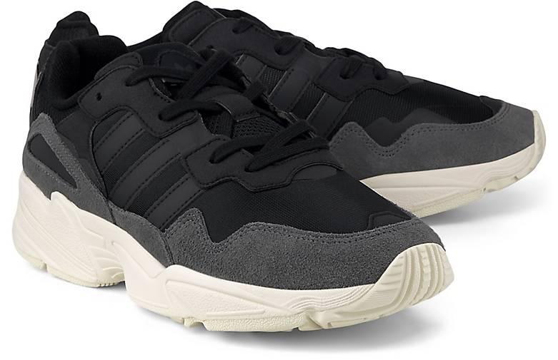 Sale Adidas Originals Yung 96 Schuhe Jungen Weiß Schwarz