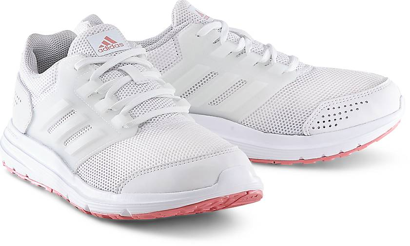 Laufschuh GALAXY 4 von Adidas Performance in weiß für Damen. Gr. 37 1/3,38,38 2/3,39 1/3,4 Preisvergleich