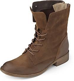 Akira Velours-Schnür-Boots