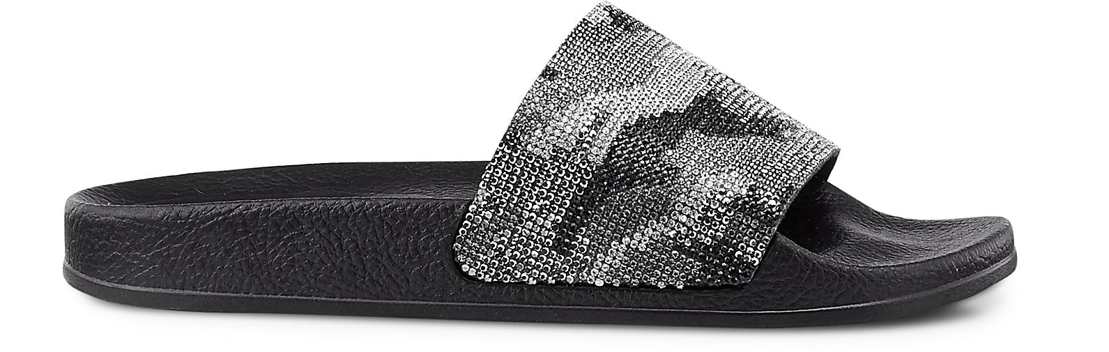 Another A Glitzer-Pantolette in schwarz kaufen - 47389801 GÖRTZ Gute Gute Gute Qualität beliebte Schuhe 5e7720