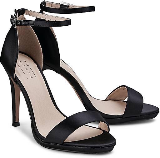 another a high heel sandalette sandaletten schwarz. Black Bedroom Furniture Sets. Home Design Ideas