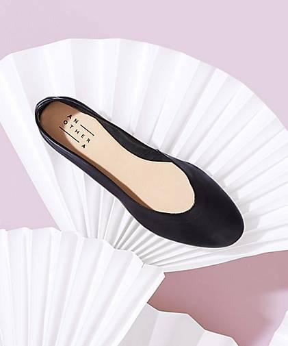 another a leder ballerina 47078401 in schwarz kaufen. Black Bedroom Furniture Sets. Home Design Ideas