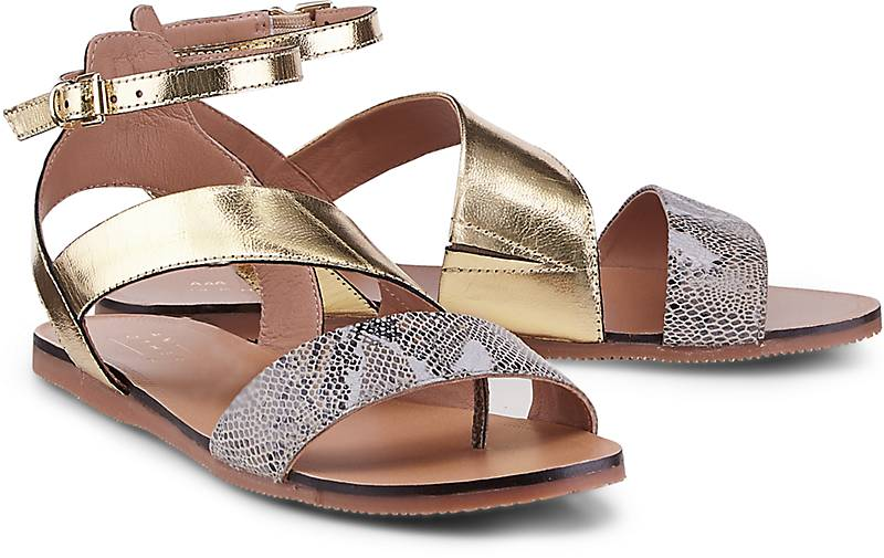 Another A Metallic-Sandalette