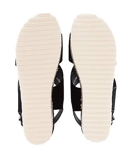 Damen sandalette Schwarz Damen Damen Schwarz sandalette Plateau Plateau sandalette Plateau nCwYP7qv