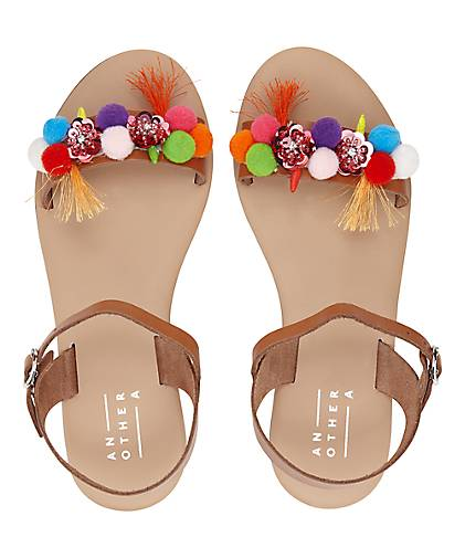 Another A Pompom-Sandale