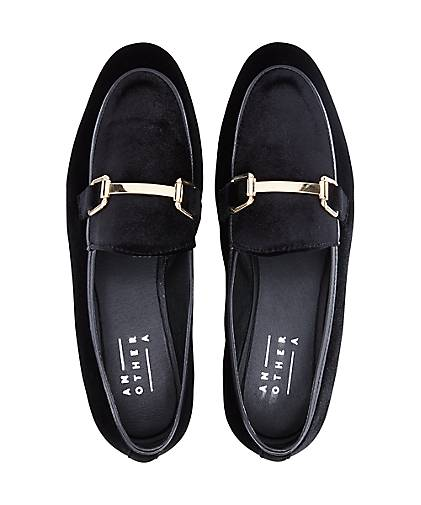 Another A Samt-Loafer