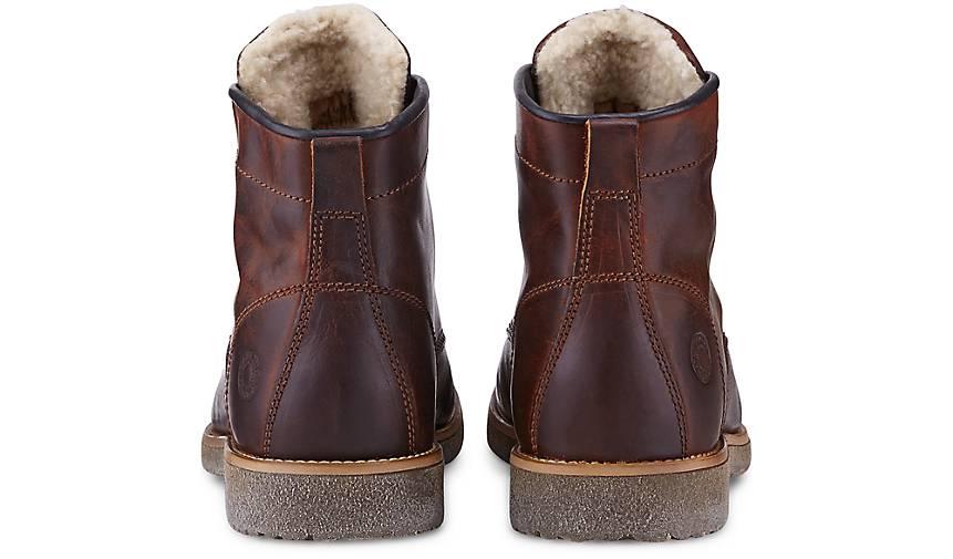 Another Another Another A Schnür-Stiefel in braun-mittel kaufen - 46934302 GÖRTZ Gute Qualität beliebte Schuhe e91b34