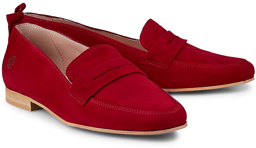 Apple of Eden Velours-Loafer RITA