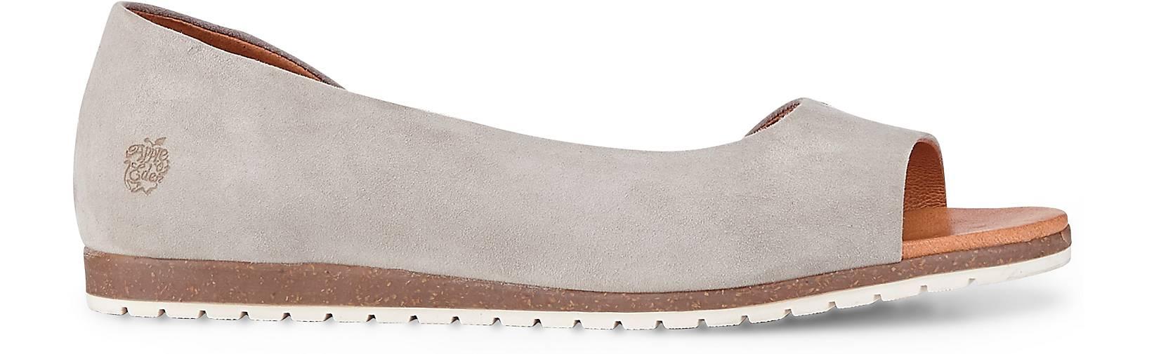 Apple of kaufen Eden Veloursleder-Sandale in grau-hell kaufen of - 48071601 | GÖRTZ Gute Qualität beliebte Schuhe f65c8d