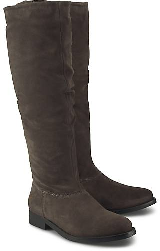 Apple of Eden Veloursleder-Stiefel KIARA