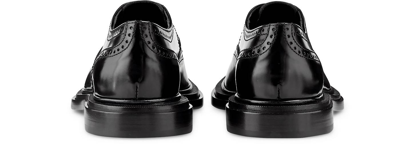 Attilio schwarz Giusti Leombruni Brogue-Schnürschuh in schwarz Attilio kaufen - 47735801 | GÖRTZ 0a54ba