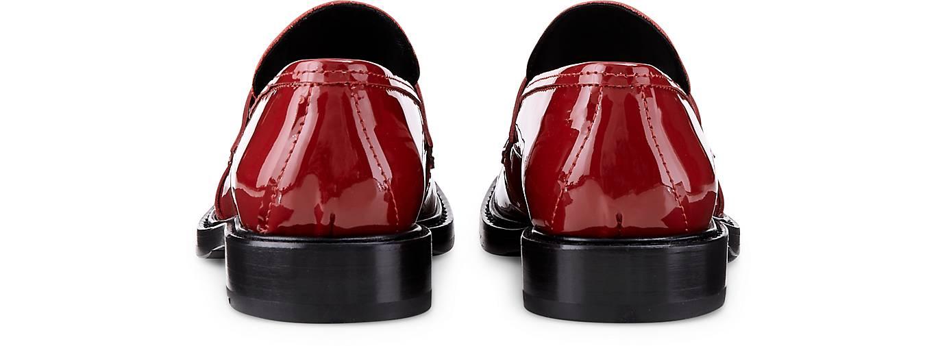 Attilio Giusti Leombruni Leombruni Leombruni Lack-Loafer in rot kaufen - 47733802 | GÖRTZ a0c335