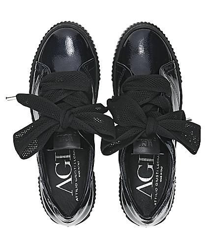 Attilio Giusti - Leombruni Luxus-Sneaker in blau-dunkel kaufen - Giusti 47739002 | GÖRTZ 19b412