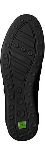 BOSS Green Leder-Sneaker AKI